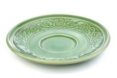 Retro ceramic  plate Royalty Free Stock Photo