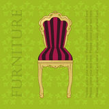 Retro  chair Royalty Free Stock Photography