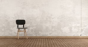 Retro chair in a room Stock Photo