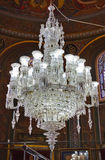 Retro chandelier in mosque - Istanbul Turkey Royalty Free Stock Image