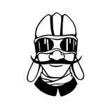 Retro character illustration Stock Photo