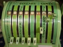 Retro Check Printing Machine Royalty Free Stock Images