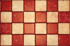 Retro checked background Royalty Free Stock Photography