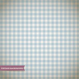 Retro Checked Pattern. Retro Blue Checked Pattern Background Royalty Free Stock Photography