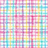Retro checkered seamless pattern . royalty free illustration