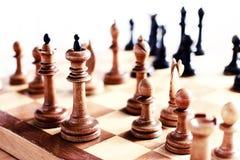 Retro chess Stock Image