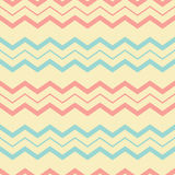 Retro chevron seamless pattern Royalty Free Stock Photos