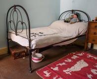 Retro Child's Bedroom Royalty Free Stock Photo