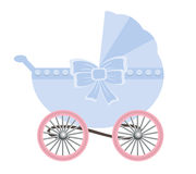 Retro children carriage Stock Image