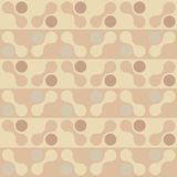 Retro chocolate shape seanless pattern. EPS 8 Stock Photography