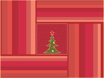 Retro christmas background Stock Photography