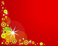 Retro Christmas Background 2 Stock Photography
