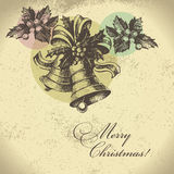 Retro Christmas background Royalty Free Stock Photos