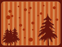 Retro Christmas background Stock Images