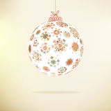 Retro Christmas background.  + EPS8 Stock Image