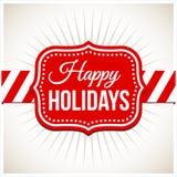 Retro Christmas Background Stock Images