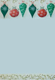 Retro Christmas Border Stock Photos