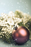 Retro christmas decoration Stock Photography