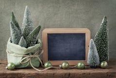 Retro christmas decoration royalty free stock images