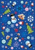 Retro Christmas Element Royalty Free Stock Photo