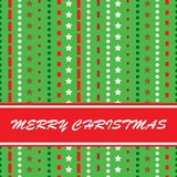 Retro christmas illustration Royalty Free Stock Photos