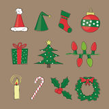 Retro Christmas Images Royalty Free Stock Image