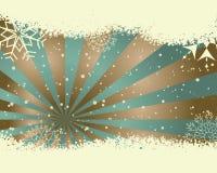 Retro  Christmas (New Year) card Stock Photo