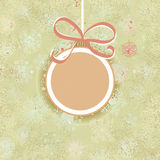 Retro Christmas ornaments.  + EPS8. Vector file Royalty Free Illustration