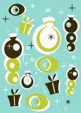 Retro Christmas Pattern. Illustration Royalty Free Stock Photos