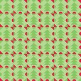 Retro Christmas pattern. Winter wallpaper. Vector illustration. Stock Photography