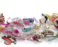 Retro christmas toys Stock Photo