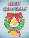 Retro Christmas Stock Image