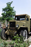 Retro ciężarówka Obraz Stock