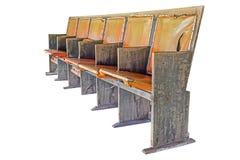 Retro cinema chairs Stock Images
