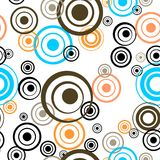 Retro circle background Royalty Free Stock Photos