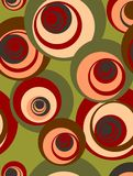 Retro circle background Royalty Free Stock Photography