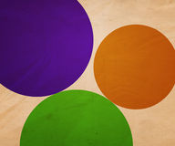 Retro Circle Illustration Background Royalty Free Stock Photos