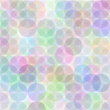 Retro circle pattern. Retro vector multicolored circle pattern Royalty Free Stock Images