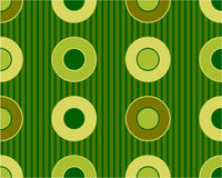 Retro circle pattern Stock Photography