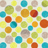 Retro circle pattern background Stock Images