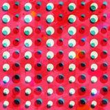 Retro circle seamless pattern grunge effect Stock Photos