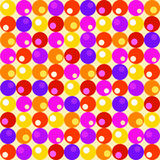 Retro circles Royalty Free Stock Photos