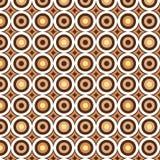Retro circles Stock Image