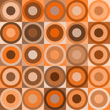 Retro Circles And Cubes Royalty Free Stock Photo