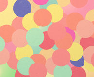Retro circles background. Retro background with colorful circles royalty free illustration