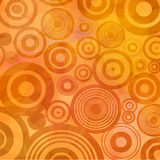 Retro circles background  Royalty Free Stock Photo