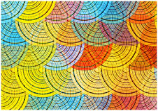Retro circles background Royalty Free Stock Photography