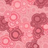 Retro circles background vector Royalty Free Stock Image
