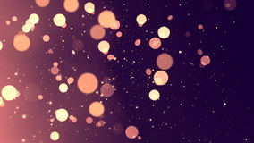 Retro Circles Glitters 1 Loopable Background stock video