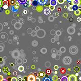 Retro Circles TB Royalty Free Stock Photos